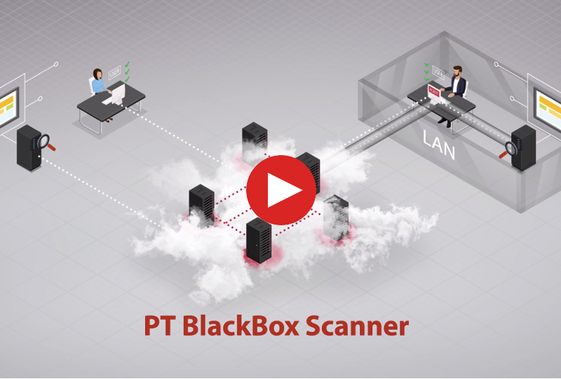 PT BlackBox Website Security Scanner video preview
